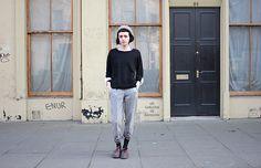 Casual Aesthetic - Les Garcons de Glasgow - London Street Style Paris Street Style