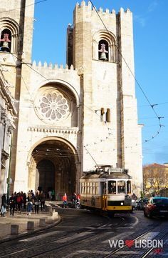 Lisbon Cathedral and Tram