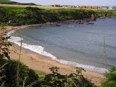 When I think of the Scottish Borders I tend to forget that the Borders region extends to the east coast of Scotland. The sea and the landscape in this area is Best Beaches In Europe, Places To Travel, Places To Visit, My Route, Yearning, Sands, My Happy Place, Coastal Living, East Coast