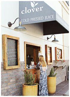 clover juices <3 // #pbbeverlyhills