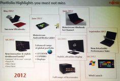 Fujitsu : Roadmap reveals a Q4 2012 Windows 8 Release Date