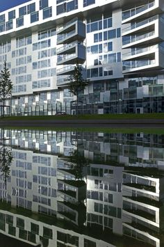 8 HOUSE is located in Southern Ørestad on the edge of the Copenhagen Canal and with a view of the | Read More