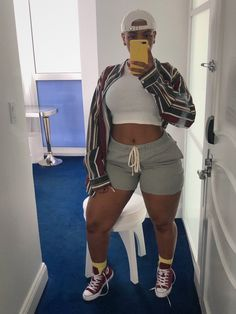 first date outfit Thick Girls Outfits, Curvy Girl Outfits, Plus Size Outfits, Trendy Outfits, Summer Outfits, Fashion 90s, Curvy Fashion, Plus Size Fashion, Fashion Outfits