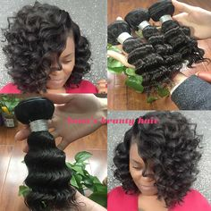 Deep wave 8 inch ,grade 9A brazilian human hair bundles ,you will get surprise by the hair quality and price