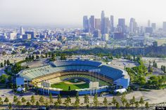 When staying at the Omni Los Angeles Hotel, be sure to catch a baseball game at Dodger Stadium, home of the Los Angeles Dodgers for over 50 years. Dodger Game, Dodger Stadium, Los Angeles Dodgers Stadium, Los Angeles Neighborhoods, Los Angeles California, Hotels Near, Paris Skyline, The Neighbourhood, Los Angeles Dodgers