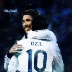 Sergio and Mesut ♥ Serzil
