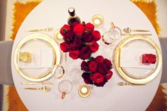 Table for two for a Valentine's Party #valentine #party