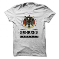Cool [SPECIAL] BEHRENS Life time member T shirts
