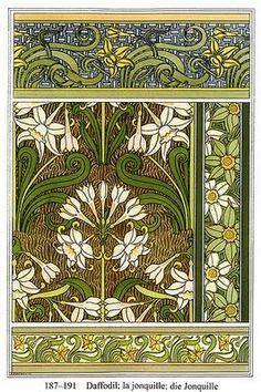 El liberty es 100% art nouveau, y la aportación floral de Arthur Lasenby sigue innovándose hasta nuestros días.
