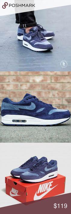 best sneakers 89ca4 61ccd NIKE AIR MAX 1 PREMIUM Sneakers NIB NIKE AIR MAX 1 PREMIUM 875844 501in  Neutral Indigo