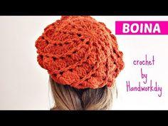 How to knit crochet beret - rebecca Crochet Beret Pattern, Loom Knitting Patterns, Baby Afghan Crochet, Crochet Beanie, Crochet Stitches, Knit Crochet, Crochet Patterns, Sombrero A Crochet, Crochet Tablecloth