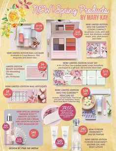 Mary Kay 2016 Spring Line Visit my website at www.marykay.com/michellefrith or email michellefrith@marykay.com