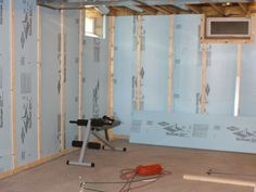basement walls ideas. Finished Insulated Basement Wall How-to Walls Ideas