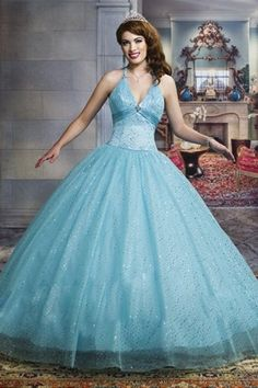 Slim V-neck Quinceanera Dress Featuring Ball Gown Skirt with Extravagant Sequins