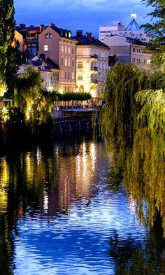 Beautiful Ljubljana at evening, Slovenia | by om photoart