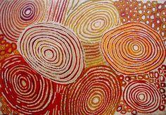 Australian aboriginal art - Walangkura Napanangka, My Country (1)