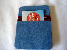 Carteira Mágica Jeans   www.munayartes.com