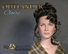Collecting Fashion Dolls by Terri Gold: Heads-Up, Sasenachs! Outlander Dolls by My Immortals
