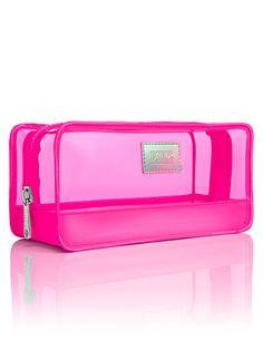 PINK Summer Makeup Bag in Pink $19.50