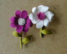 flores de tela por lindsey