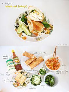 ohdeardrea: An Easy & Delicious Vegan Bahn Mi (Chay) Sandwich ...