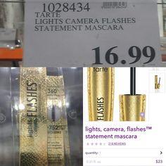 [PSA]Tarte Lights Camera Flashes Mascara now available at COSTCO.