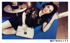 megan fox for Metrocity, adding sex appeal to a classic fairly unknown brand?