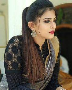 "❣️🥰♥️❤️🤩😜😛😀😉😆 ""When u turned the bad times into challenges. Ur eyes speaks about Ur success. Beautiful Girl Indian, Most Beautiful Indian Actress, Beautiful Girl Image, Beautiful Saree, Gorgeous Girl, Indian Bollywood Actress, Indian Actresses, Tamil Actress, Beauty Full Girl"