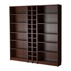 BILLY / GNEDBY, Bookcase, medium brown FOR SHOES!!