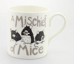 (JM19)  A Mischief of Mice Mug