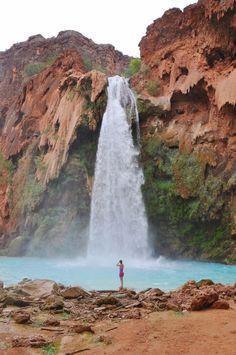 havasupai falls, arizona.