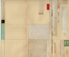 Cecil Touchon - collage on paper - 2010 - Fluxus Office Work