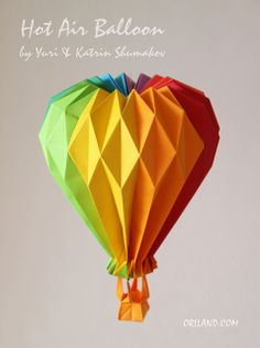 Hot Air Balloon from Oriland! by Oriland, via Flickr
