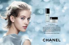 Makeup Ads, Drugstore Makeup Dupes, Beauty Dupes, Beauty Makeup, Luxury Graphic Design, Basic Makeup Kit, Chanel Hydra Beauty, Perfume Ad, Cosmetic Design