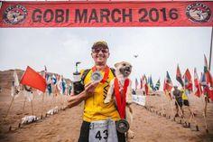 Un atleta adopta a una perrita que le siguió durante un ultramaratón en el…