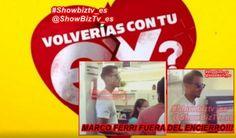 #VolveríascontuEX? #MarcoFerri esta fuera.El italiano fue visto y fotografiado por los seguidores del reality por las calles de Chile