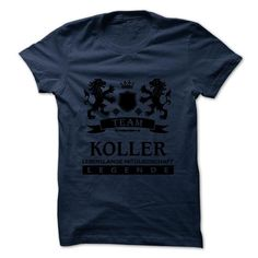 KOLLER - TEAM KOLLER LIFE TIME MEMBER LEGEND - #wedding gift #gift for girls. GUARANTEE => https://www.sunfrog.com/Valentines/KOLLER--TEAM-KOLLER-LIFE-TIME-MEMBER-LEGEND.html?68278