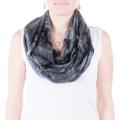 Hey, I found this really awesome Etsy listing at https://www.etsy.com/listing/215506713/dark-grey-infinity-silk-scarf-grey-and