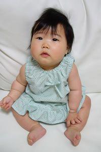 型紙無料ダウンロード(ベビー服ロンパース)~ハンドメイドのココロ(新米ママの手芸&グルメ)