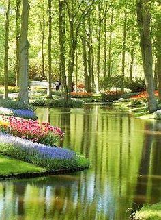 Keukenhof Gardens - Holland