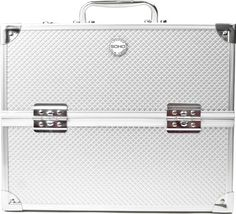 SOHO Pro Texture Diamond Silver Beauty Case ** Learn more by visiting the image link.