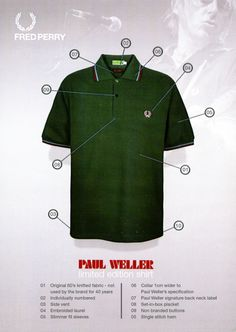 Paul Weller & Fred Perry collaboration!