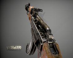 ArtStation - AKM, AKMS, VPO-209, VPO-136 rifles (plus AKMNS, AKMNSLP variants and modding parts), Nikita Buyanov