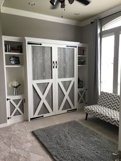 """Visit our internet site for more relevant information on """"murphy bed diy"""". It is actually an exceptional place to learn more. Furniture, Room, House, Small Spaces, Home, Murphy Bed Diy, Remodel Bedroom, Guest Room Office, Guest Bedroom"""