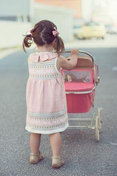 Baby girl knit dress for MeMini Girls Knitted Dress, Knit Dress, Great Photos, Baby Photos, Madeline Doll, Flower Girl Dresses, Summer Dresses, Dolls, Knitting