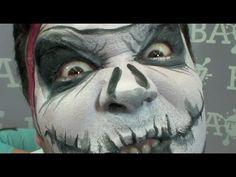 John the Jack Skull - Face Painting Design