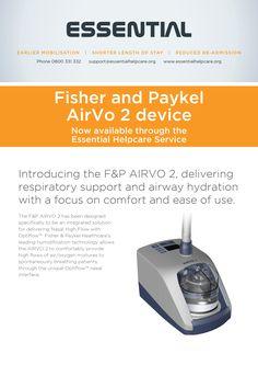 New AirVo 2 device! #airvo2 #essentialhelpcare #fisherandpaykelhealthcare #healthcare #breathe #air #device #essential #technology