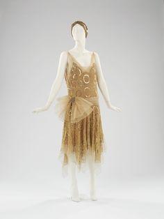 Jeanne Lanvin evening dress ca. 1923 via The Costume Institute of The Metropolitan Museum of Art