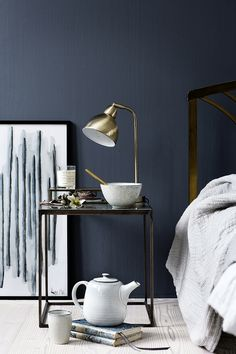 Cima Table Lamp - perfect for the bedside from Broste Copenhagen at House Envy,http://www.house-envy.co.uk/cima-table-lamp-brass-finish