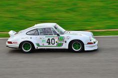 Bernard Moreau drove this 1973 Porsche 911 RS 2.8 Ltr in the Classic Endurance Racing Race 4, Silverstone, 10th September 2011.